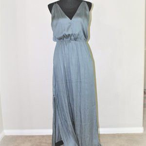 H&M satin maxi dress